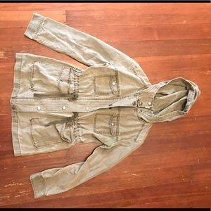 Nordstrom green cargo jacket